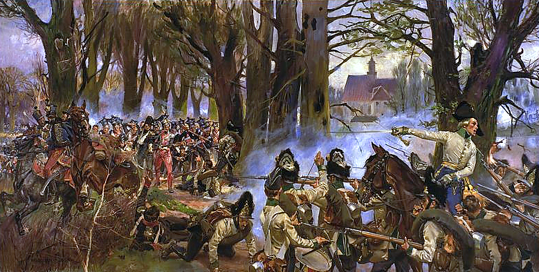 Battle of Raszyn 1809 by Wojciech Kossak